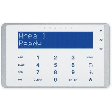 Paradox K656 - LCD klávesnice s dotykovými klávesami