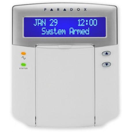 PARADOX - K32LCD+ - LCD klávesnice, CZ, 16 znaků, 2 řádky, modré podsvícení - (1408-013)