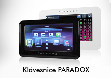 Klávesnice  pro elektronický zabezpečovací systém PARADOX