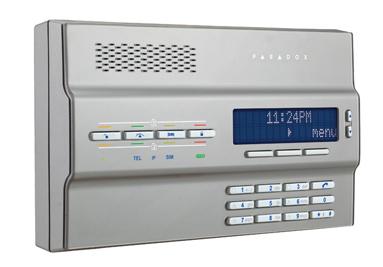 Magellan hybridní elektronický zabezpečovací systém Paradox