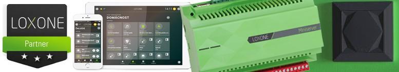 LOXONE Smart home - inteligentní dům, řízení elektronických technologií